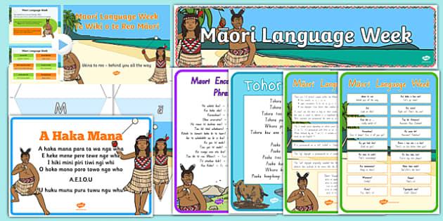 Maori Language Week Resource Pack