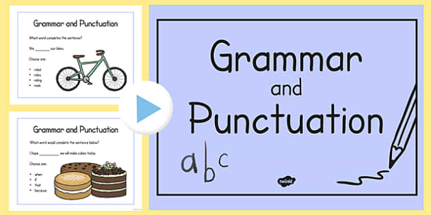 Year 2 Grammar and Punctuation Challenge PowerPoint - year 2, grammar, punctuation, challenge, powerpoint