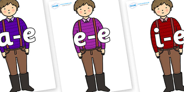 Modifying E Letters on Rapunzels Father - Modifying E, letters, modify, Phase 5, Phase five, alternative spellings for phonemes, DfES letters and Sounds