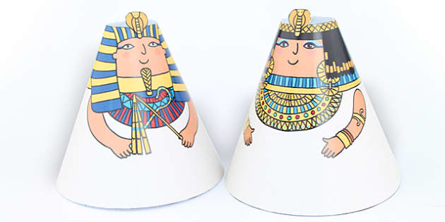 Egyptian Cone People - egypt, ancient egypt, history, roleplay