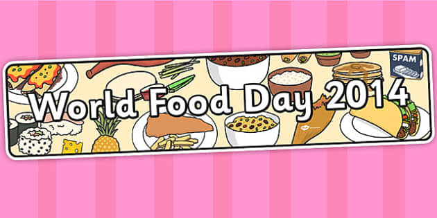 World Food Day 2014 Display Banner - banners, displays, poster