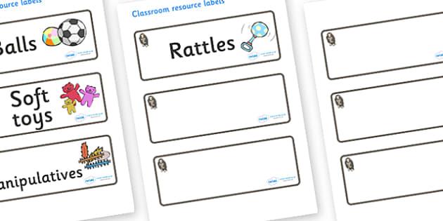 Monkey Themed Editable Additional Resource Labels - Themed Label template, Resource Label, Name Labels, Editable Labels, Drawer Labels, KS1 Labels, Foundation Labels, Foundation Stage Labels, Teaching Labels, Resource Labels, Tray Labels, Printable l
