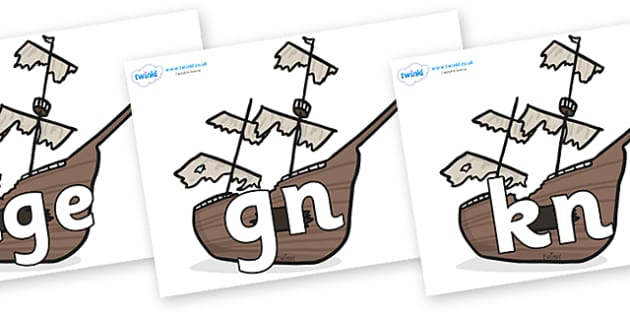 Silent Letters on Shipwrecks - Silent Letters, silent letter, letter blend, consonant, consonants, digraph, trigraph, A-Z letters, literacy, alphabet, letters, alternative sounds