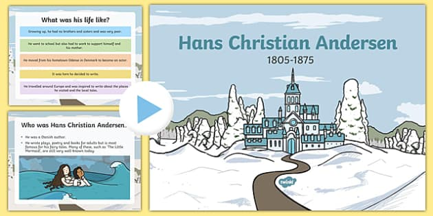 Hans Christian Anderson Information PowerPoint Presentation