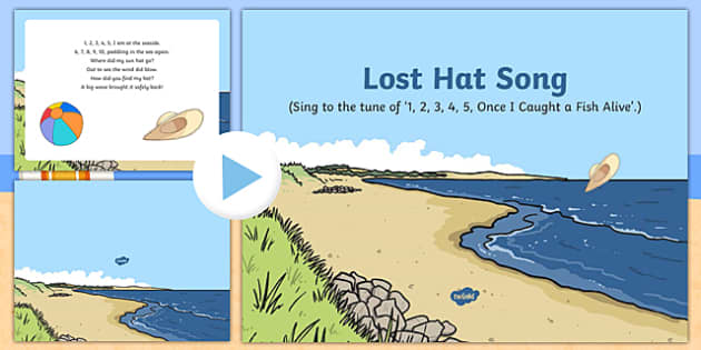 Lost Hat Song PowerPoint