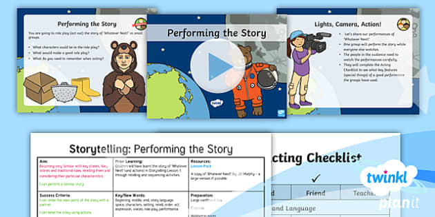 PlanIt Y1 Space: To Support Teaching on Whatever Next! Lesson Pack Storytelling (2) - Planit English, Space, Whatever Next, Jill Murphy, Astronauts, Narrative, Stories with Familiar Sett