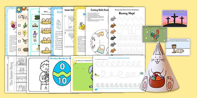 Easter SEN Resource Pack - easter, SEN, sensory, PMLD, P Scales