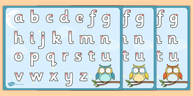 Cute Owl Themed Letter Writing Worksheet - cute owl, letter writing, letter, write, worksheet