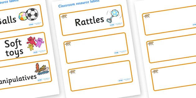 Jaguar Themed Editable Additional Resource Labels - Themed Label template, Resource Label, Name Labels, Editable Labels, Drawer Labels, KS1 Labels, Foundation Labels, Foundation Stage Labels, Teaching Labels, Resource Labels, Tray Labels, Printable l