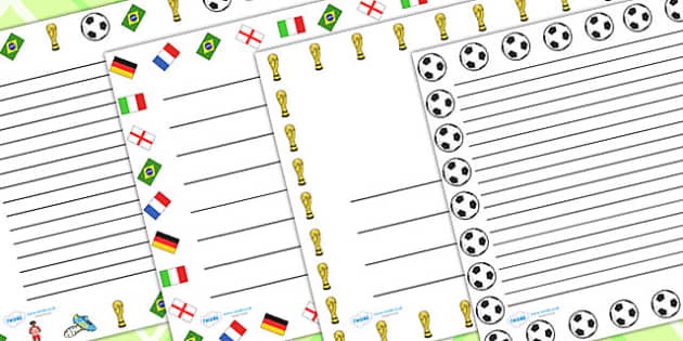 Football Page Border Images Landscape - football, sport, borders