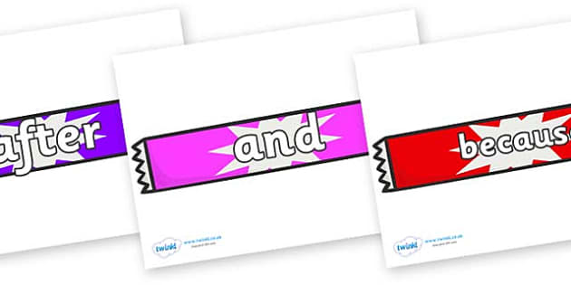 Connectives on Candy Bars - Connectives, VCOP, connective resources, connectives display words, connective displays