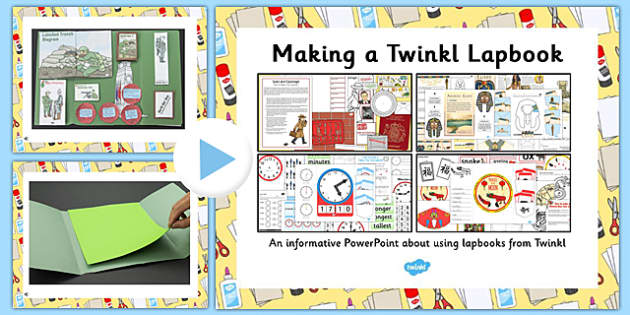 How to Make a Twinkl Lapbook - hot to, make, twinkl, lapbook, lap book, activity
