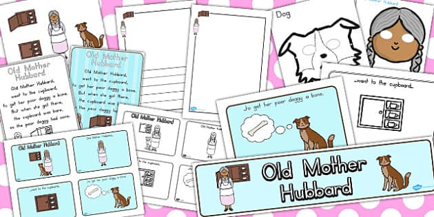 Old Mother Hubbard Resource Pack - australia, resources, pack