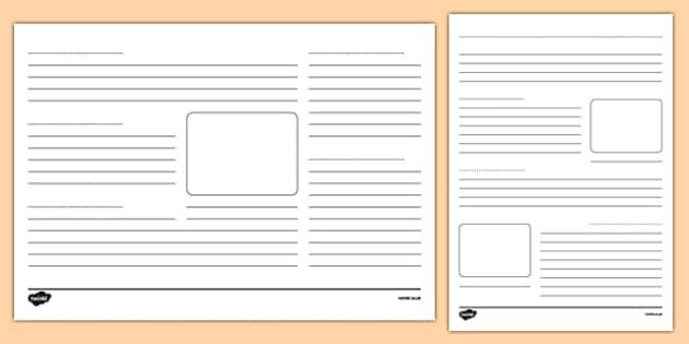 Encyclopedia Writing Frames Pack