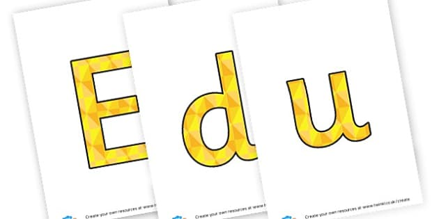 Education - display lettering - Display Lettering Primary Resources, cut out, letters, display
