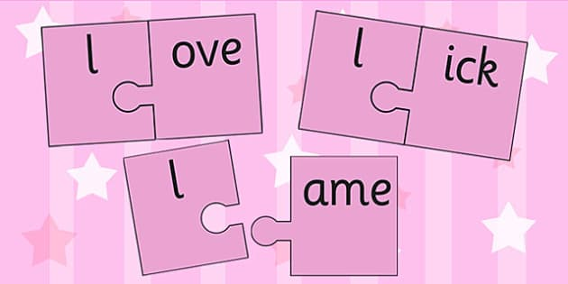 l And Vowel Production Jigsaw Cut Outs - l, vowel, jigsaw, sounds