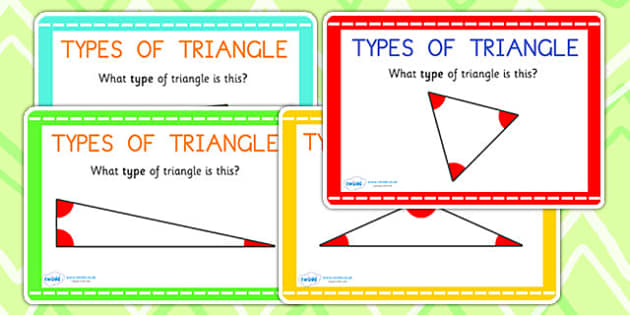 Types of Triangle Maths Challenge Cards - triangle, shapes, maths