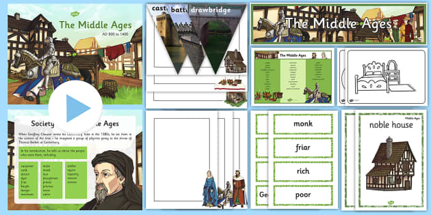 The Middle Ages Resource Pack - History Club, The Middle Ages, Castles, Ideas, Support, Care Homes, Elderly Care, Activity Cordinato