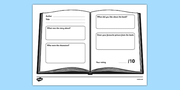 Book Review Worksheet book review worksheet book review – Book Review Worksheet