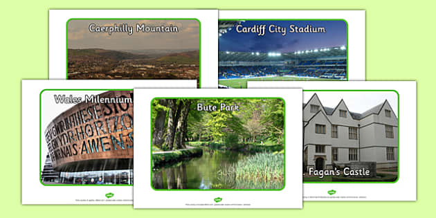 Cardiff Tourist Attraction Posters - cardiff, tourist, posters