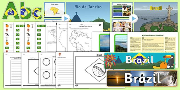 KS2 Brazil Resource Pack - ks2, brazil, resource pack, ks2 brazil, resource, pack