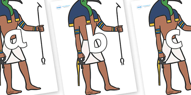 Phoneme Set on Egyptian Priests - Phoneme set, phonemes, phoneme, Letters and Sounds, DfES, display, Phase 1, Phase 2, Phase 3, Phase 5, Foundation, Literacy