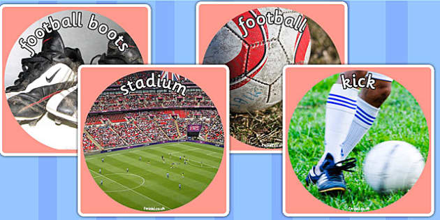 Football World Cup Display Photo Cut Outs - football, world cup