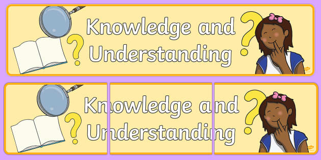 Knowledge And Understanding Display Banner - knowledge, understanding, display, banner, sign, poster
