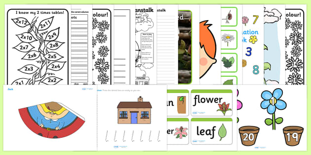 Plants and Growth KS1 Lesson Plan Ideas and Resource Pack - pack