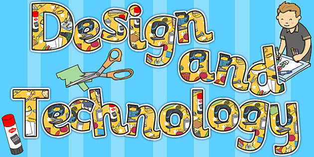 Design and technology title display lettering design tech for Design teich