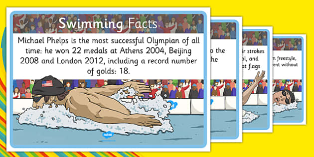 The Olympics Swimming Display Facts - rio, 2016, olympic, games, athletes, swim, swimming, sport, information, facts, research