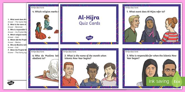 Al-Hijra Quiz Cards