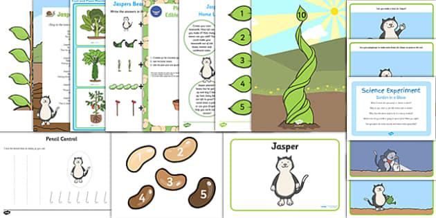 Childminder EYFS Resource Pack to Support Teaching on Jasper's Beanstalk