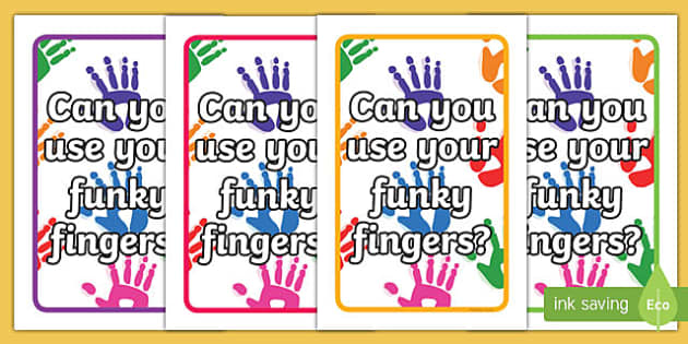 IKEA Tolsby Can you use your Funky Fingers? Prompt Frame