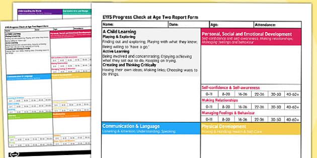 Early Years Progress Summary Form - summary, form, progress