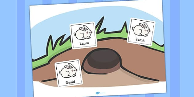 Rabbit Burrow Self Registration - rabbit, burrow, self, reg