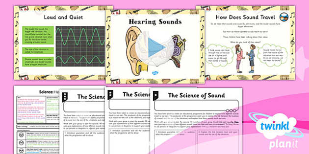 PlanIt - Science Year 4 - Sound Lesson 2: Hearing Sounds Lesson Pack - planit, science, year 4, sound