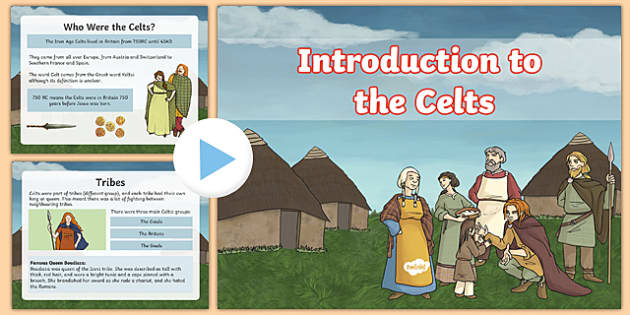 A Day in the Life of a Celt Worksheet Differentiated - celtic