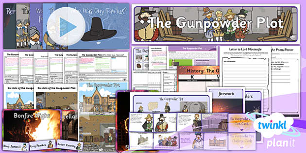 PlanIt - History KS1 - The Gunpowder Plot Unit Pack - planit