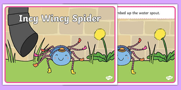Incy Wincy Spider Sequencing - Incy Wincy Spider, nursery rhyme, rhyme, rhyming, nursery rhyme story, nursery rhymes, Incy Wincy Spider resources, minibeasts, sequencing
