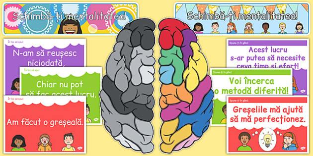 Dezvolta-ti mentalitatea pro-dezvoltare, Planse - motivare