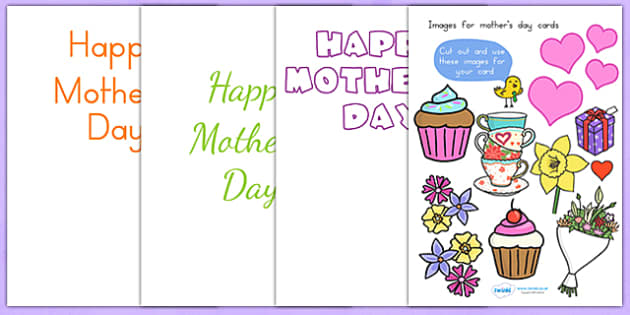 Mothers Day Design a Mothers Day Card - mothers day cards, cards