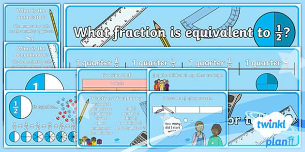 PlanIt Y2 Fractions Display Pack