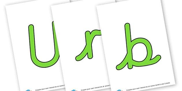 Urban Pioneers - display lettering - KS2 Local Studies, Geography, Local Studies, KS2 Geography
