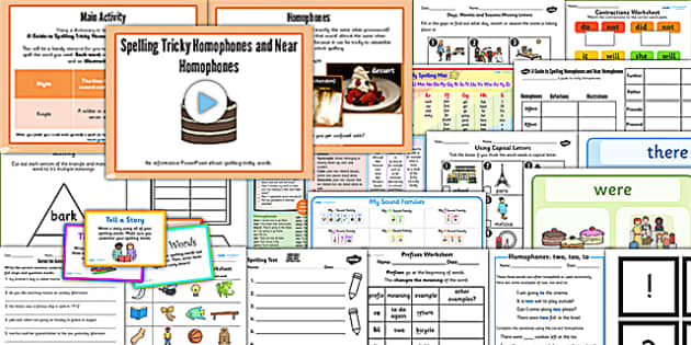 KS1 Spelling and Grammar Resource Pack - grammar, spell, pack
