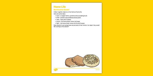 Elderly Care Life History Book Home Life Reminiscence Session - Elderly, Reminiscence, Care Homes, Life History Books