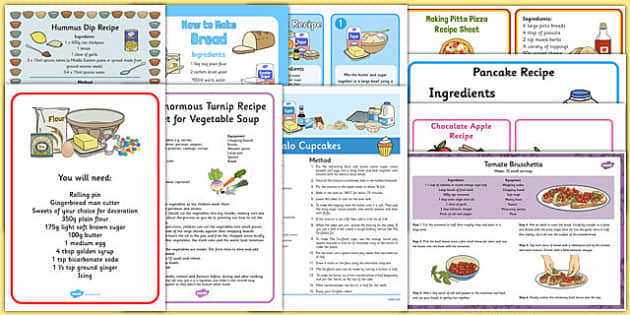 Childminder Recipe Pack - childminder, recipe, pack, childminder recipes