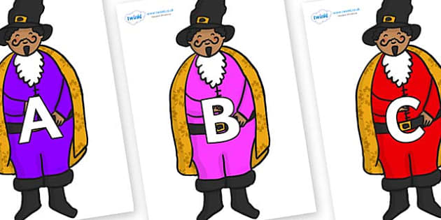 A-Z Alphabet on Bean Seller - A-Z, A4, display, Alphabet frieze, Display letters, Letter posters, A-Z letters, Alphabet flashcards