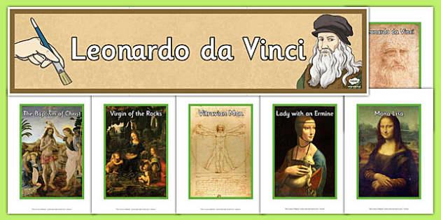 Leonardo da Vinci Artist Inspiration