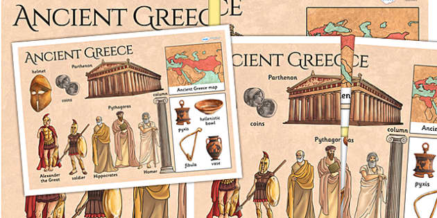 Ancient Greece Large Display Poster - ancient greece, poster